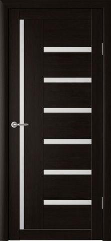 Дверь Фрегат ALBERO Мадрид, стекло матовое, цвет кипарис тёмный, остекленная