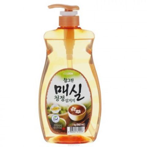 Средство для мытья посуды CJ Lion Chamgreen Японский абрикос 960 мл(113330)