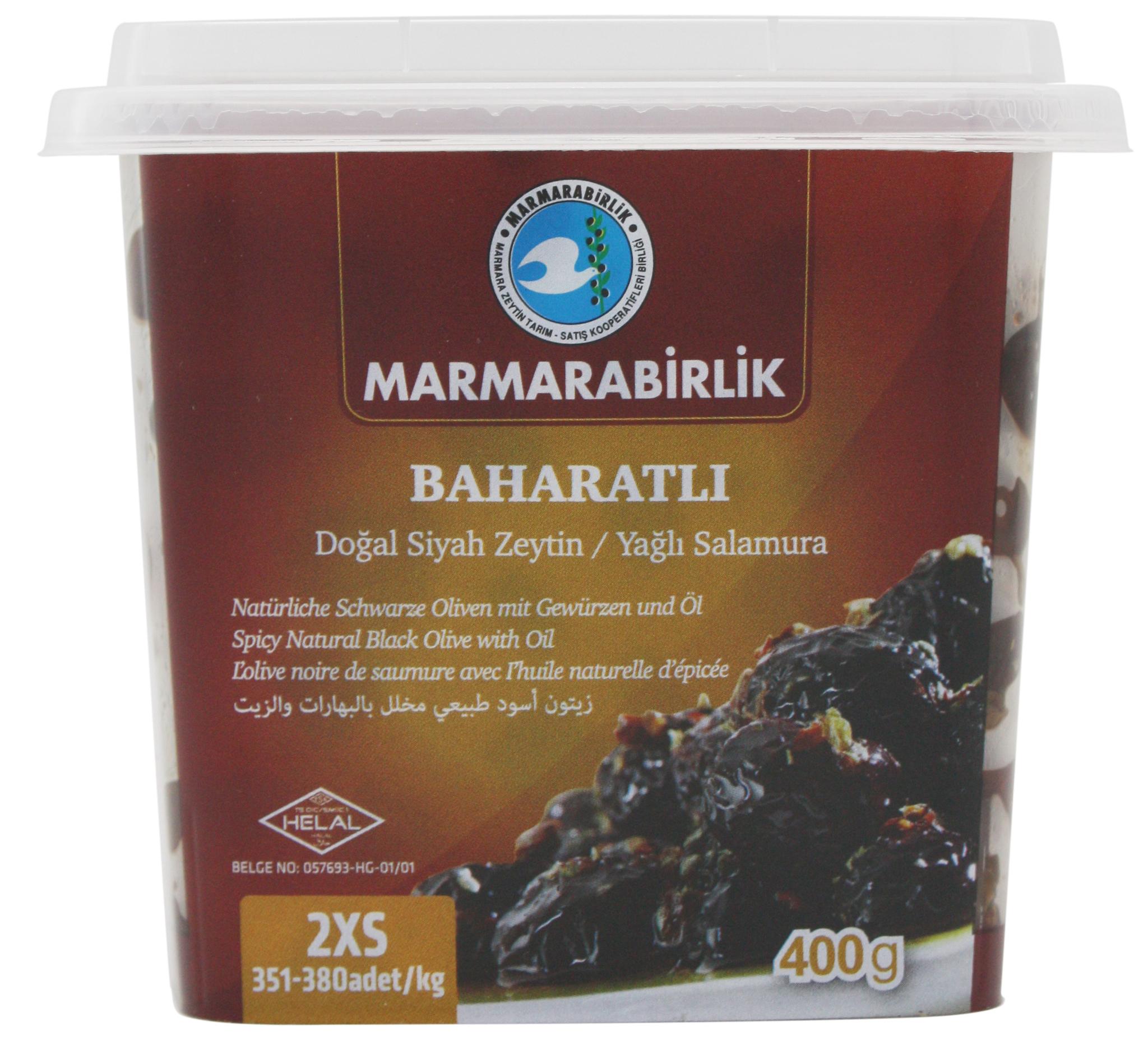 Оливки Маслины Baharatli вяленые со специями 2XS, Marmarabirlik, 400 г import_files_17_174bf817df9711e9a9b6484d7ecee297_06646426ef3211e9a9ba484d7ecee297.jpg