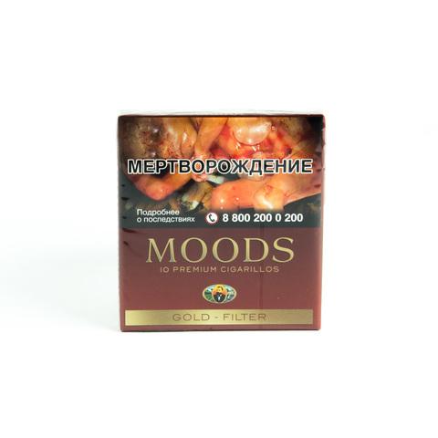 Сигариллы Moods Gold Filter 10 шт