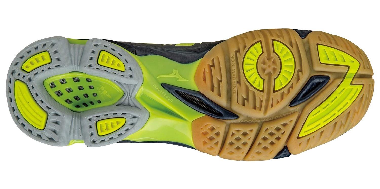 Мужский кроссовки для волейбола Mizuno Wave Lightning Z2 (V1GA1600 44) желтые фото