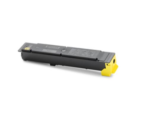 Совместимый тонер-картридж TK-5215Y желтый для KYOCERA TASKalfa 406ci Yellow, 15000 стр.