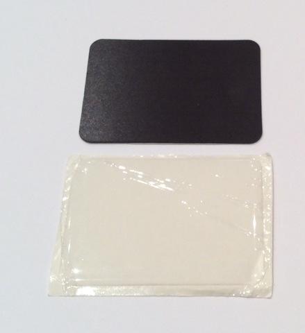 Заготовка магнита 70х50 мм с линзой толщиной 0.7 мм