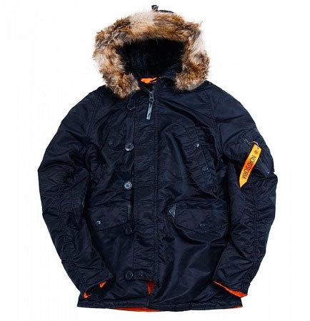 Куртка Аляска  Nord Storm N-3B Husky (т. синяя - ink/orange)