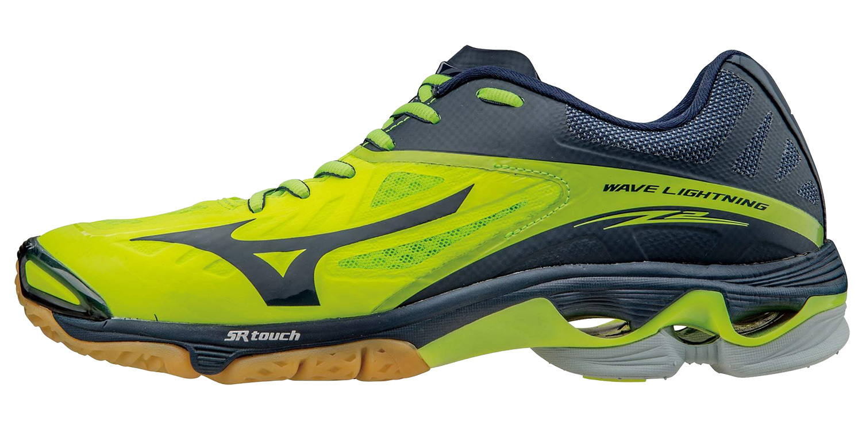 Мужские кроссовки для занятия волейболом Mizuno Wave Lightning Z2 (V1GA1600 44) желтые фото