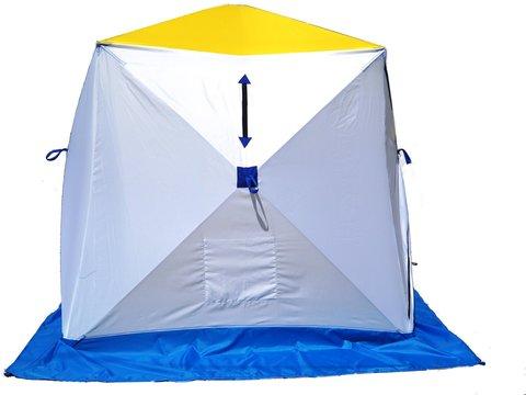 Палатка зимняя СТЭК КУБ-2