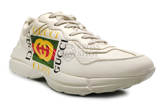 Gucci Men's White\White with logo