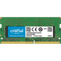 Память для ноутбука Crucial SO-DIMM 8GB DDR4 2666 MT/s (PC4-21300) CL19 SR x8 Unbuffered 260pin Single Rank