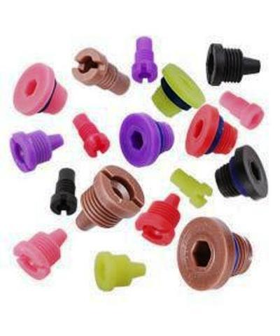 Набор инжекторов Runxin (белый, зеленый, салатовый, розовый, фиолетовый, коричневый, красный, синий и черный)