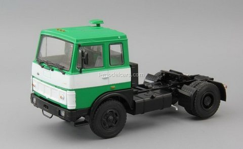 MAZ-5432 road tractor green 1:43 DeAgostini Auto Legends USSR Trucks #45