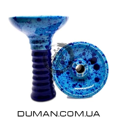 Чаша GrynBowls для кальяна |Phunnel Blue-Dark Blue