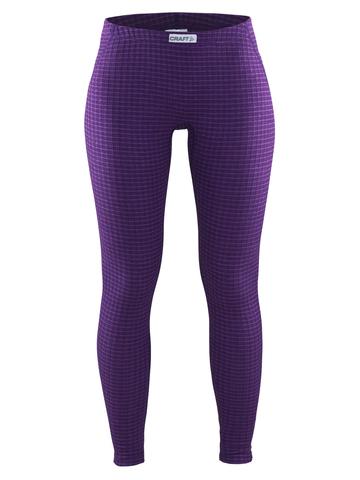 Термобелье кальсоны Craft Warm Wool женские фиолетовый