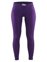 Женское термобелье кальсоны Craft Warm Wool фиолетовый (1903725-2495)
