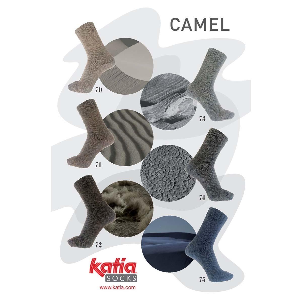Katia Camel Socks-74