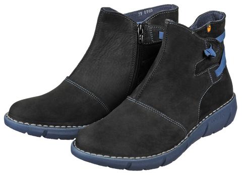 6986 reims negro ботинки женские Jungla