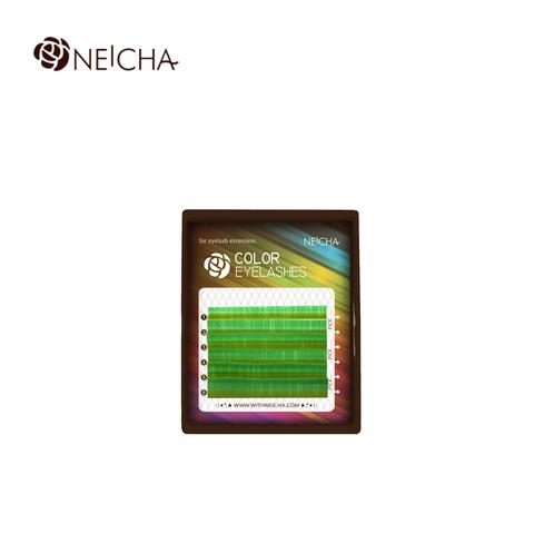 Ресницы NEICHA нейша цветные 6 линий MIX мохито