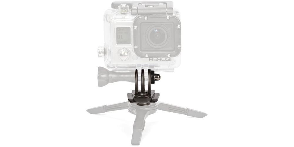 Переходник для фотоштатива JOBY Action Tripod Mount пример использования