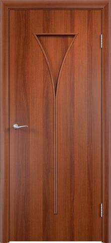 Дверь Сибирь Профиль Рюмка (С-4), цвет итальянский орех, глухая