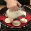 Силиконовая форма для оладий поможет вам приготовить идеально кругл...
