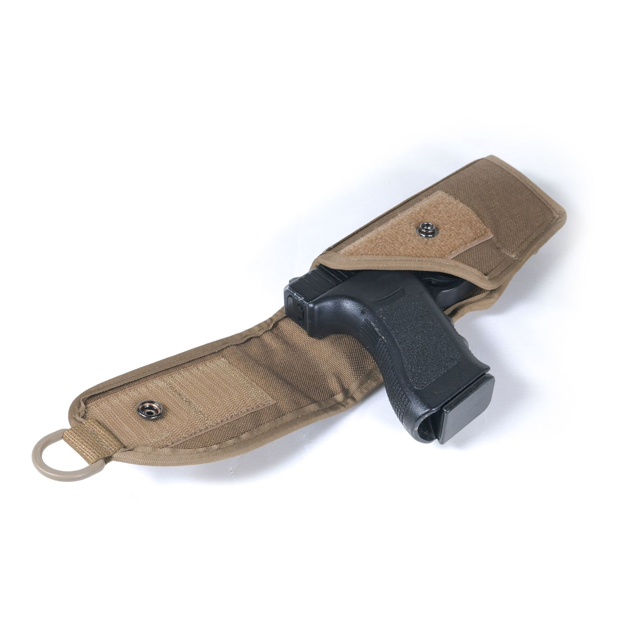 Кобура закрытая для пистолетов Глок 17, Глок 19, крепление MOLLE Стич Профи