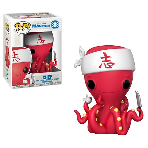 Chef (Monsters) Funko POP! Vinyl Figure || Шэф (Корпорация Монстров)