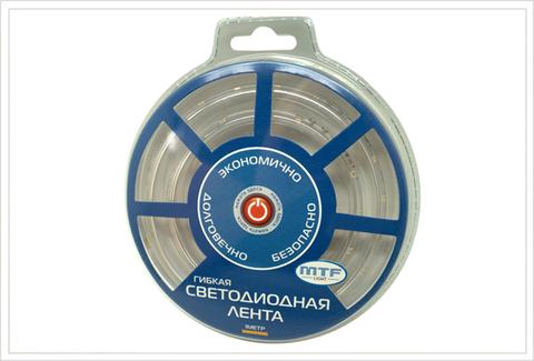 Светодиодная лента гибкая MTF Light 1V2C607WY 1м (янтарный)