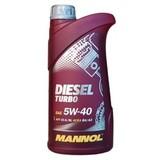 Mannol Diesel Turbo 5W-40 - Синтетическое моторное масло для дизельных автомобилей