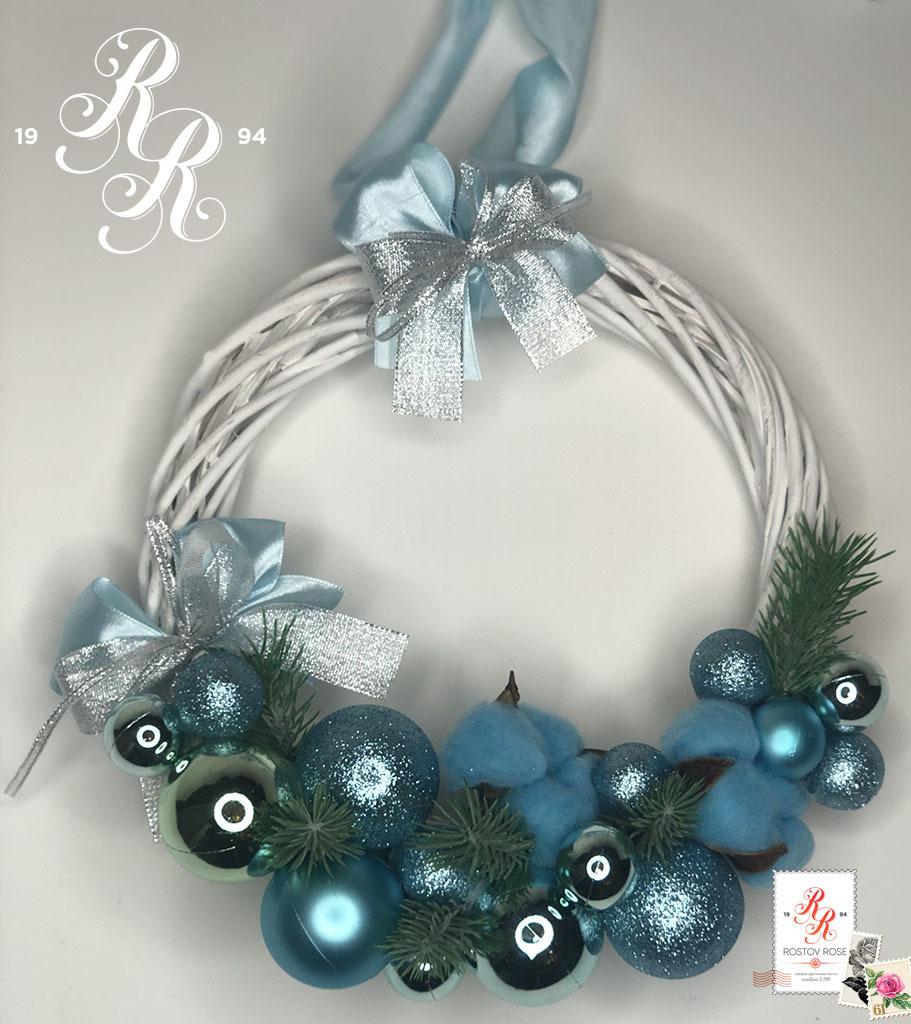 Рождественский венок 13