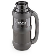 Термос со стеклянной колбой LaPlaya Traditional 35-50, black