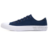 Кеды Converse All Stars II Low Navy White