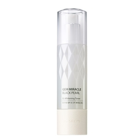 THE SAEM Gem Miracle W Тонер кислородный осветляющий  Gem Miracle Black Pearl O2 Whitening Toner 150мл