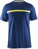 Футболка беговая мужская Craft Joy Run Blue