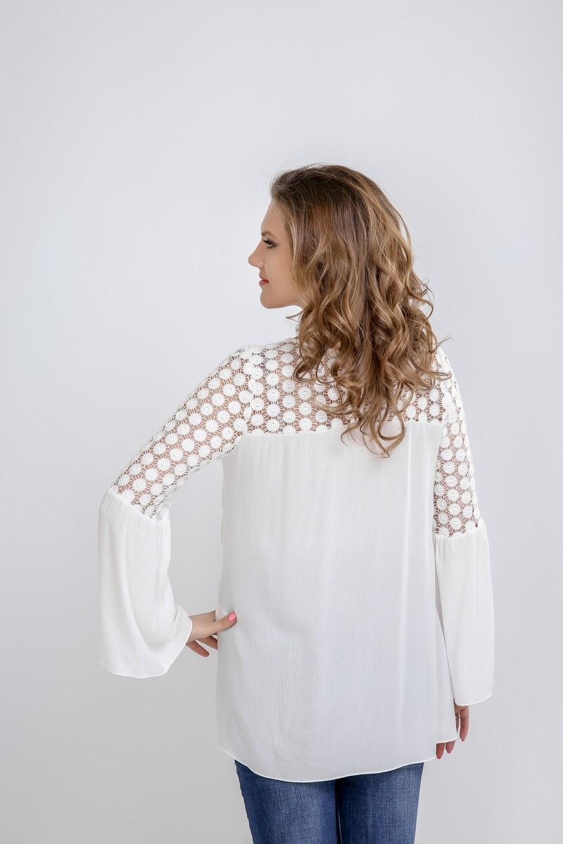 Блузка 09590 кремовый