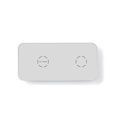 N19 - Беспроводная зарядка на 2 устройства
