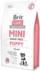 Беззерновой корм для щенков мини-пород, Brit Care MINI Grain-Free Puppy, с ягненком