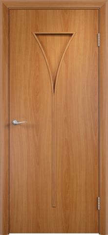 Дверь Сибирь Профиль Рюмка (С-4), цвет миланский орех, глухая