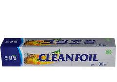 Алюминиевая фольга Clean Wrap, 30см*30м