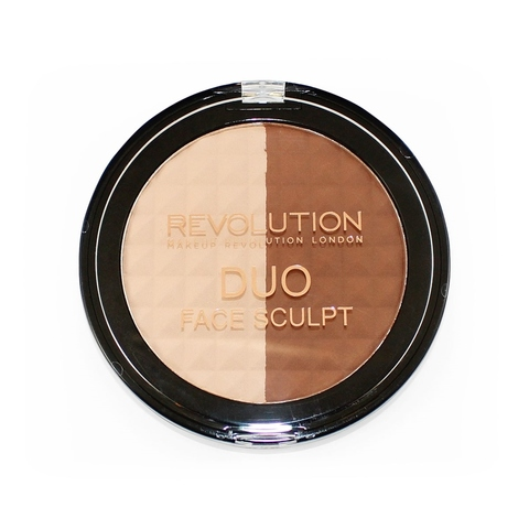 Палетка для контурирования лица Makeup Revolution Duo Face Sculpt