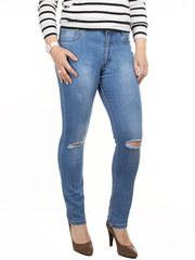 K869 джинсы женские, синие