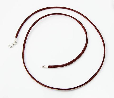 Кожаный (замшевый) шнурок для кулона