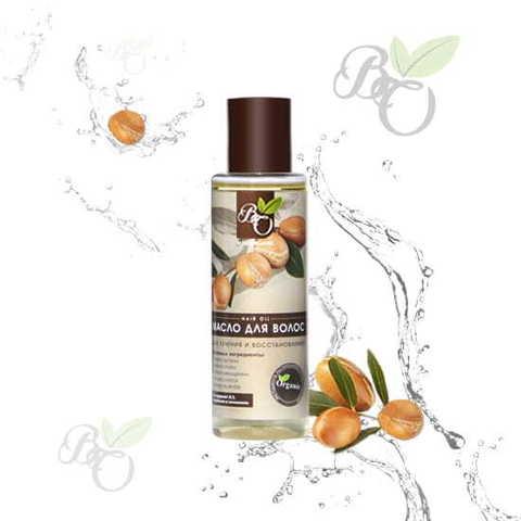 Органическое масло для волос «Лечение и восстановление», Bliss organic 110 мл