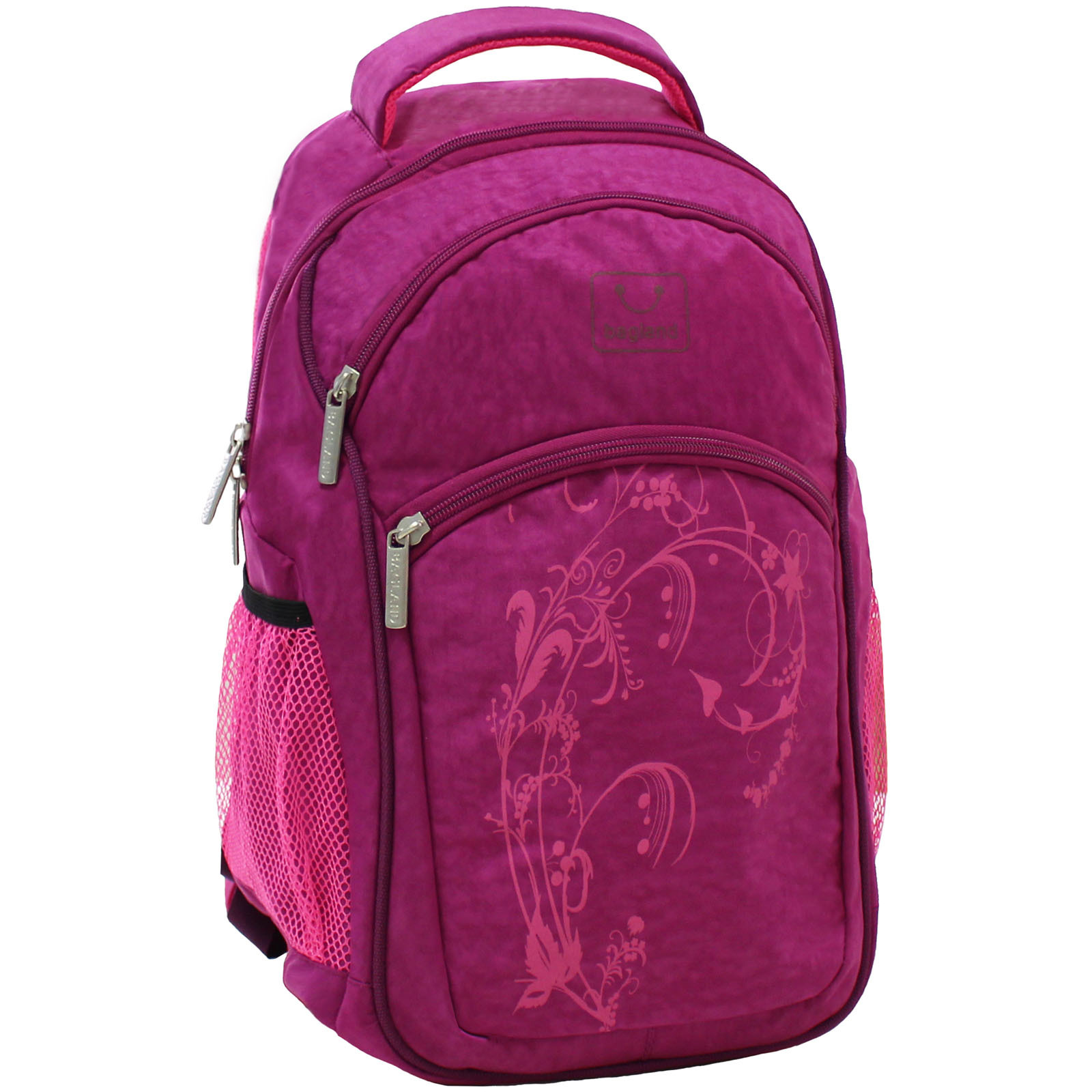Городские рюкзаки Рюкзак Bagland Лик 21 л. Малиновый (0055770) IMG_6530.JPG
