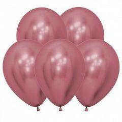 S 12 Розовый, (Зеркальные шары) / Reflex Pink / 5 шт. /