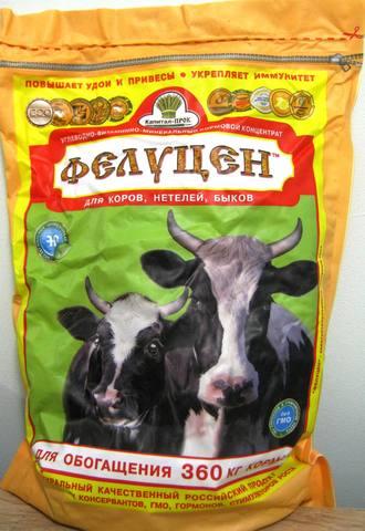 УВМК для коров, нетелей, быков (углеводно витаминно-минеральный кормовой концентрат) 3кг (для обогащения 360 кг корма)