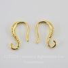 Швензы - крючки 13 мм (цвет - золото)