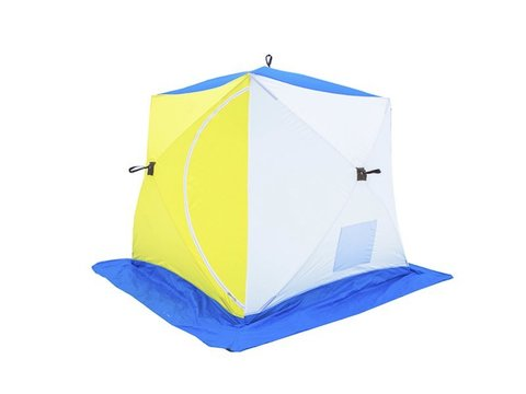 Палатка зимняя СТЭК КУБ-2 трехслойная (дышащий верх)