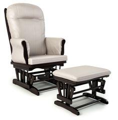 Кресло-качалка Makaby Lux с оттоманкой