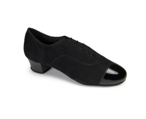 Туфли International La, Rumba Duo - Black nubuk/ black patent