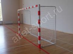 Ворота алюминиевые мини-футбол/гандбол 2х3 м (пара).