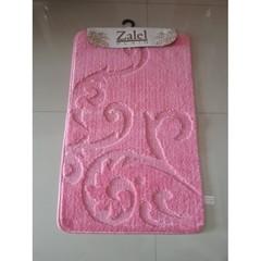 Коврик для ванны Zalel 55х90 см ворс, розовый